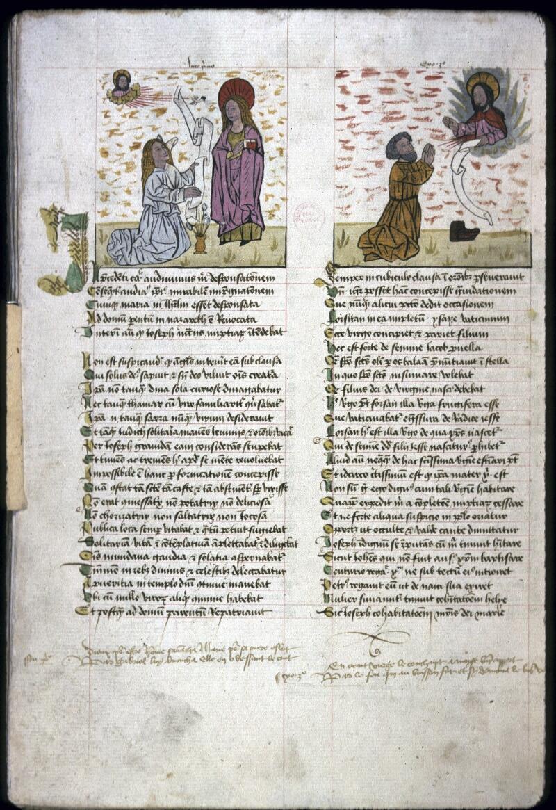 Lyon, Bibl. mun., ms. 0245, f. 126v - vue 1
