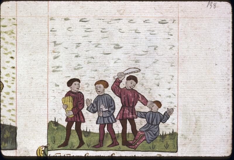 Lyon, Bibl. mun., ms. 0245, f. 138 - vue 2
