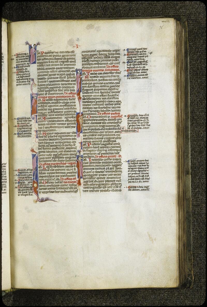Lyon, Bibl. mun., ms. 0373, f. 038 - vue 1