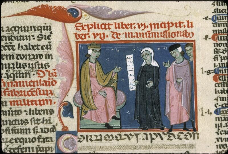 Lyon, Bibl. mun., ms. 0373, f. 202 - vue 2