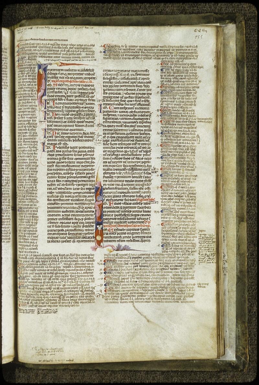 Lyon, Bibl. mun., ms. 0373, f. 255 - vue 1