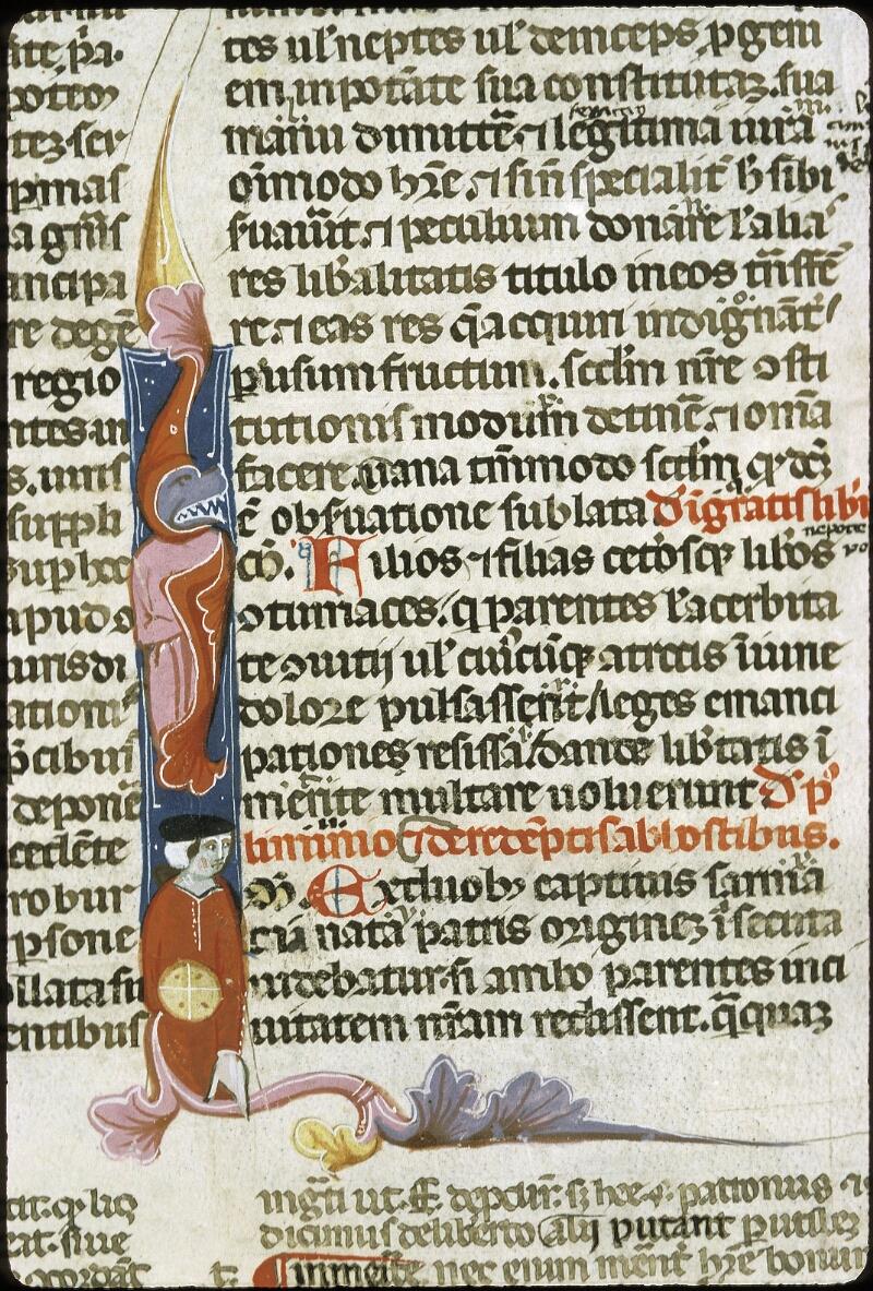 Lyon, Bibl. mun., ms. 0373, f. 255 - vue 3