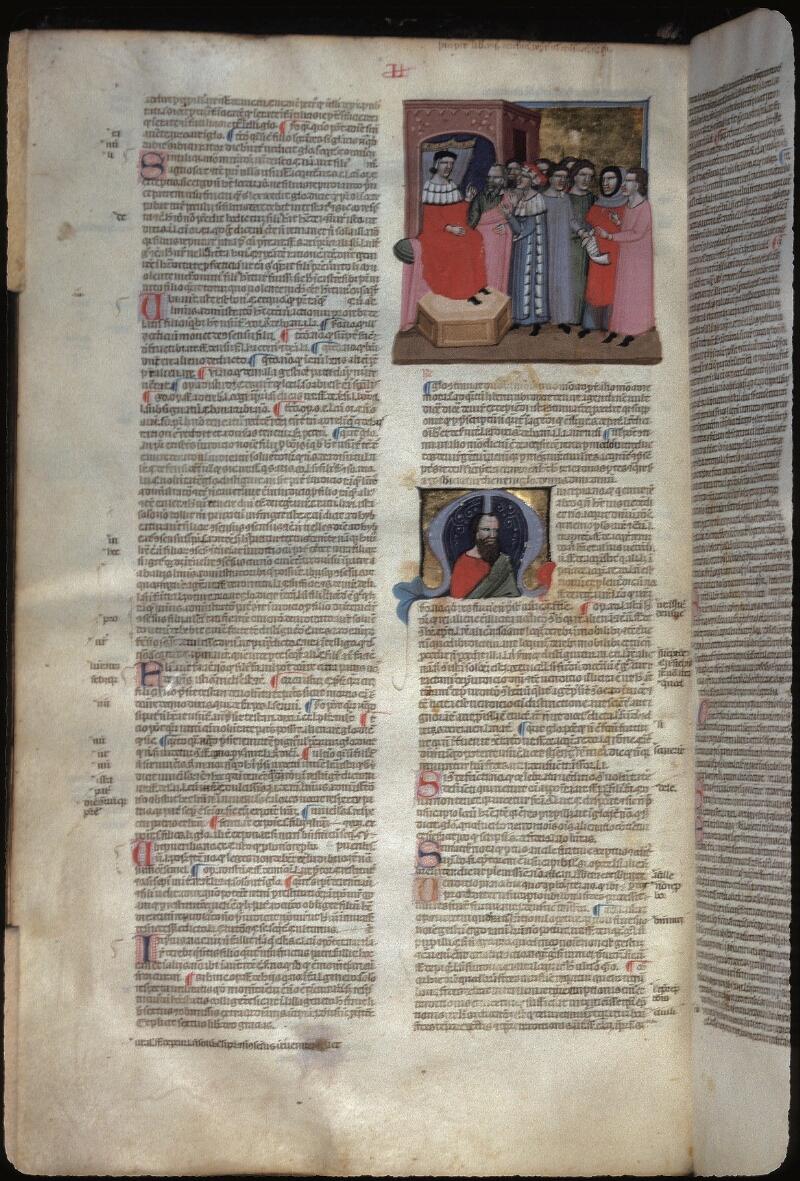 Lyon, Bibl. mun., ms. 0374, f. 235v - vue 1