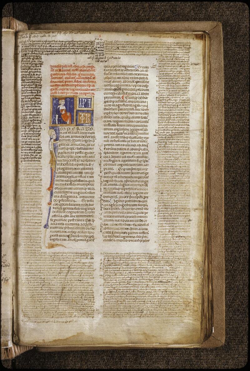 Lyon, Bibl. mun., ms. 0378, f. 002 - vue 2