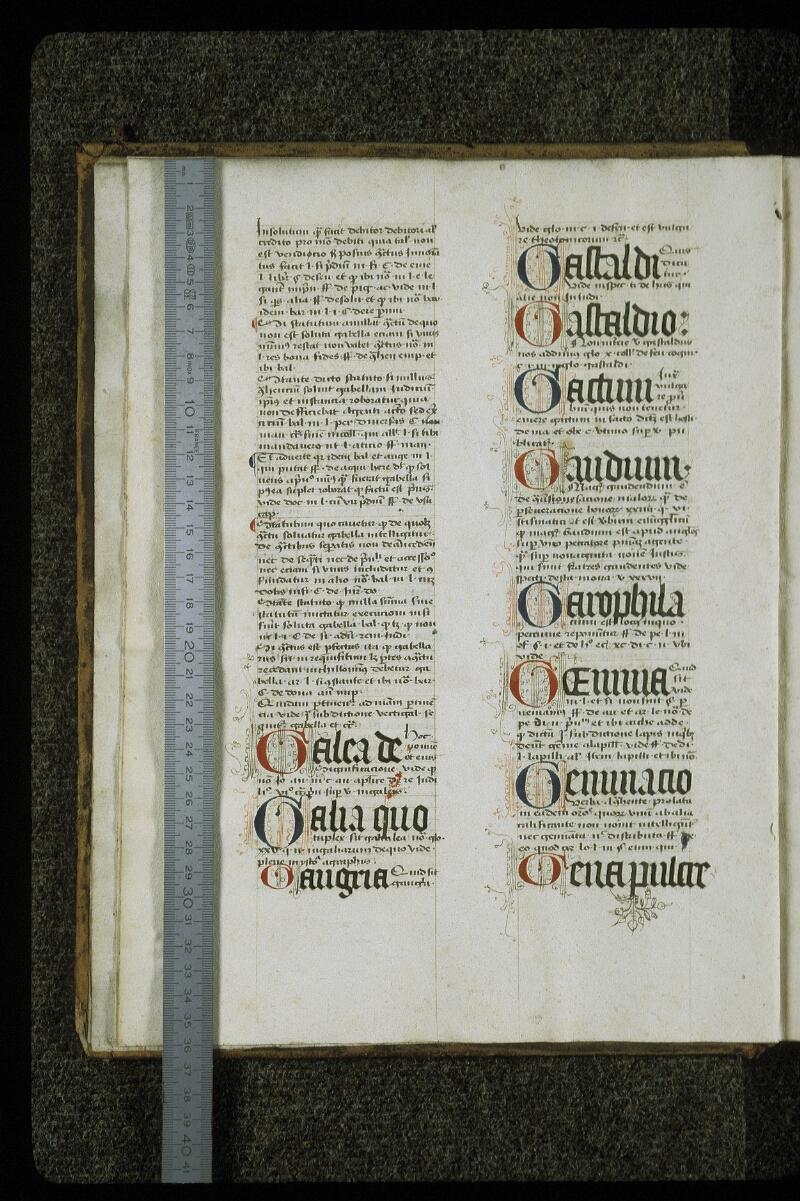 Lyon, Bibl. mun., ms. 0392, f. 002v - vue 1