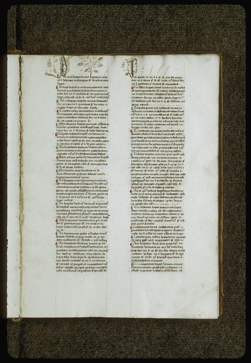 Lyon, Bibl. mun., ms. 0392, f. 138 - vue 1