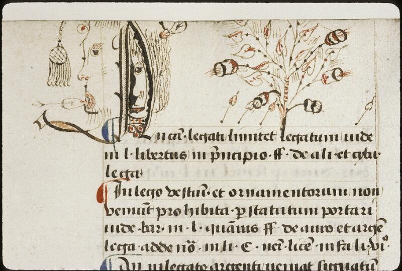 Lyon, Bibl. mun., ms. 0392, f. 138 - vue 2