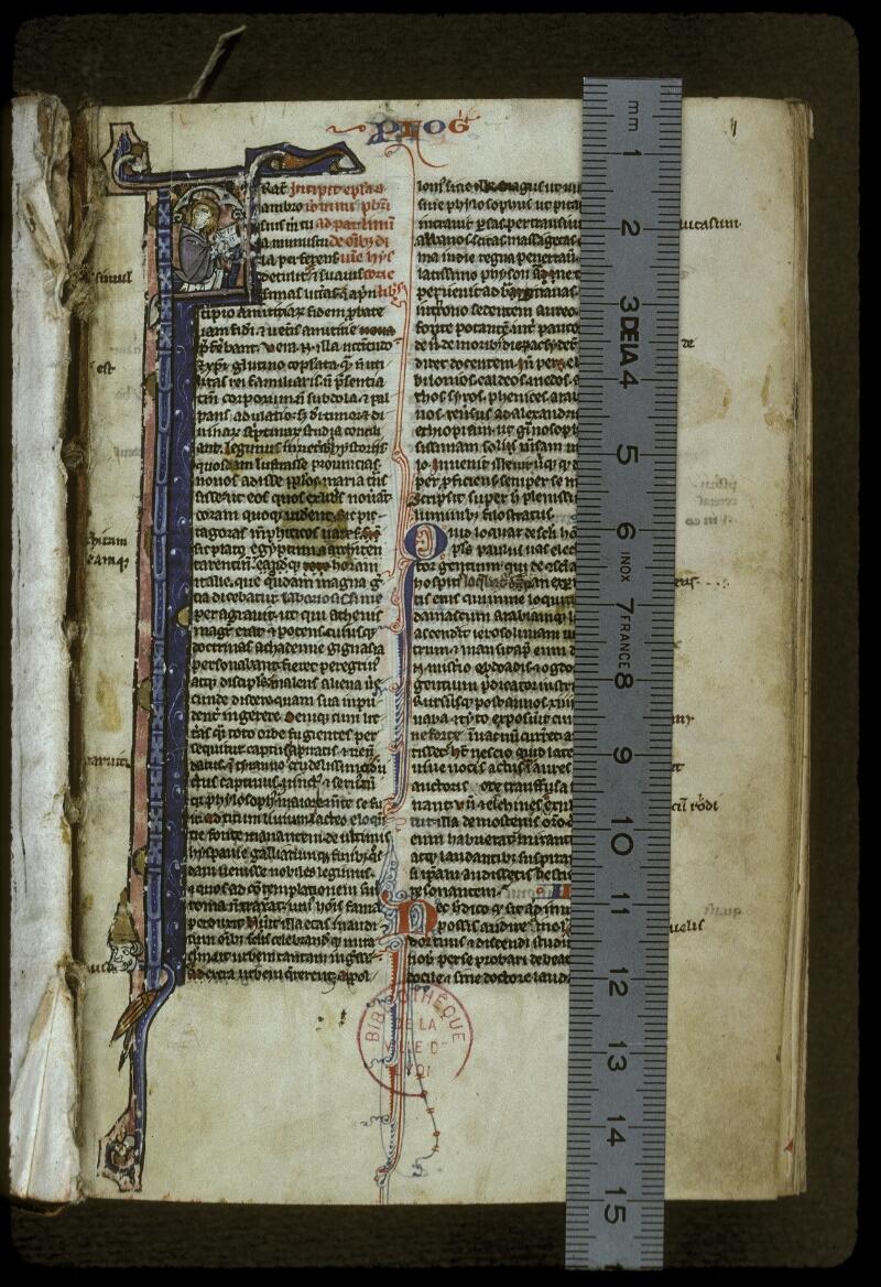 Lyon, Bibl. mun., ms. 0406, f. 001 - vue 1