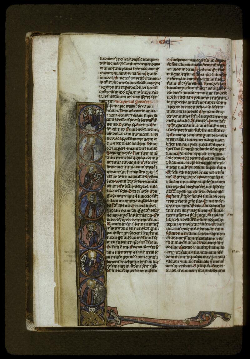 Lyon, Bibl. mun., ms. 0406, f. 004v - vue 1