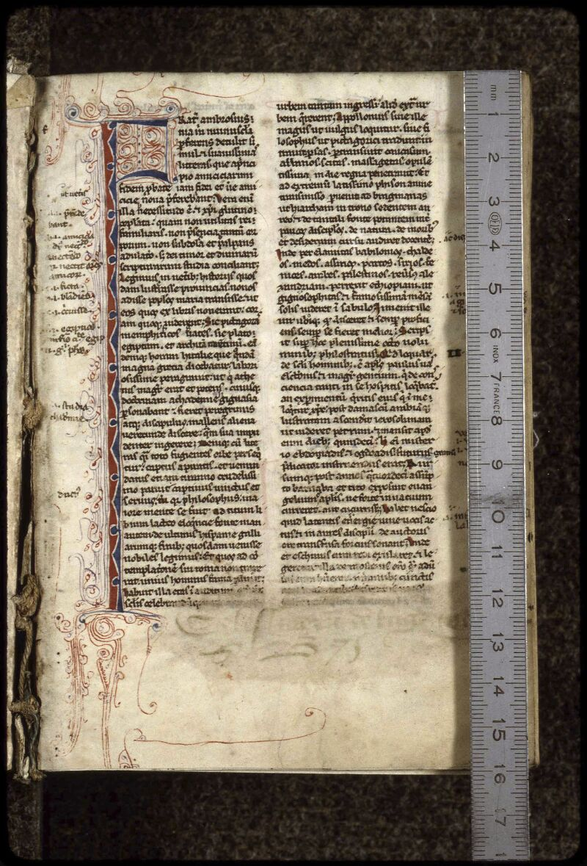 Lyon, Bibl. mun., ms. 0407, f. 000I - vue 1