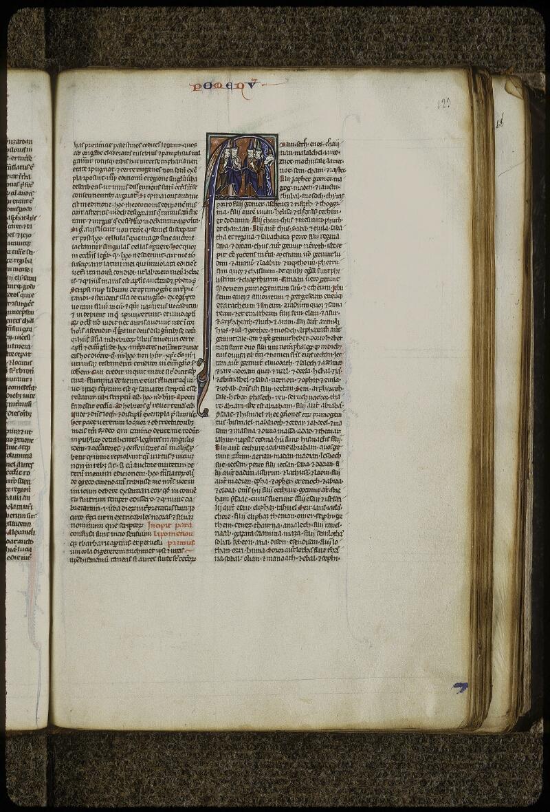 Lyon, Bibl. mun., ms. 0408, f. 123 - vue 1