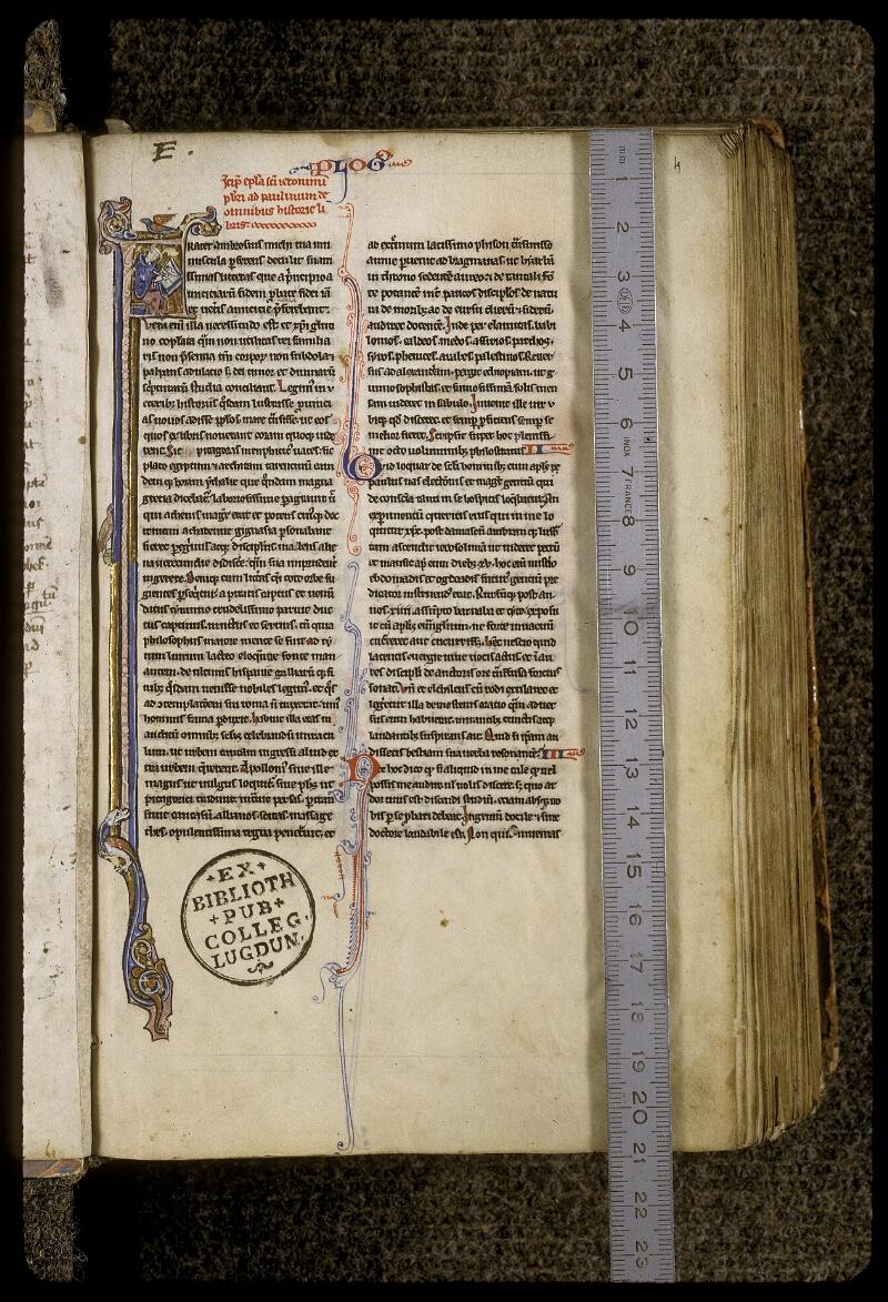 Lyon, Bibl. mun., ms. 0409, f. 004 - vue 1