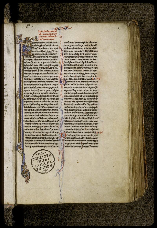 Lyon, Bibl. mun., ms. 0409, f. 004 - vue 2