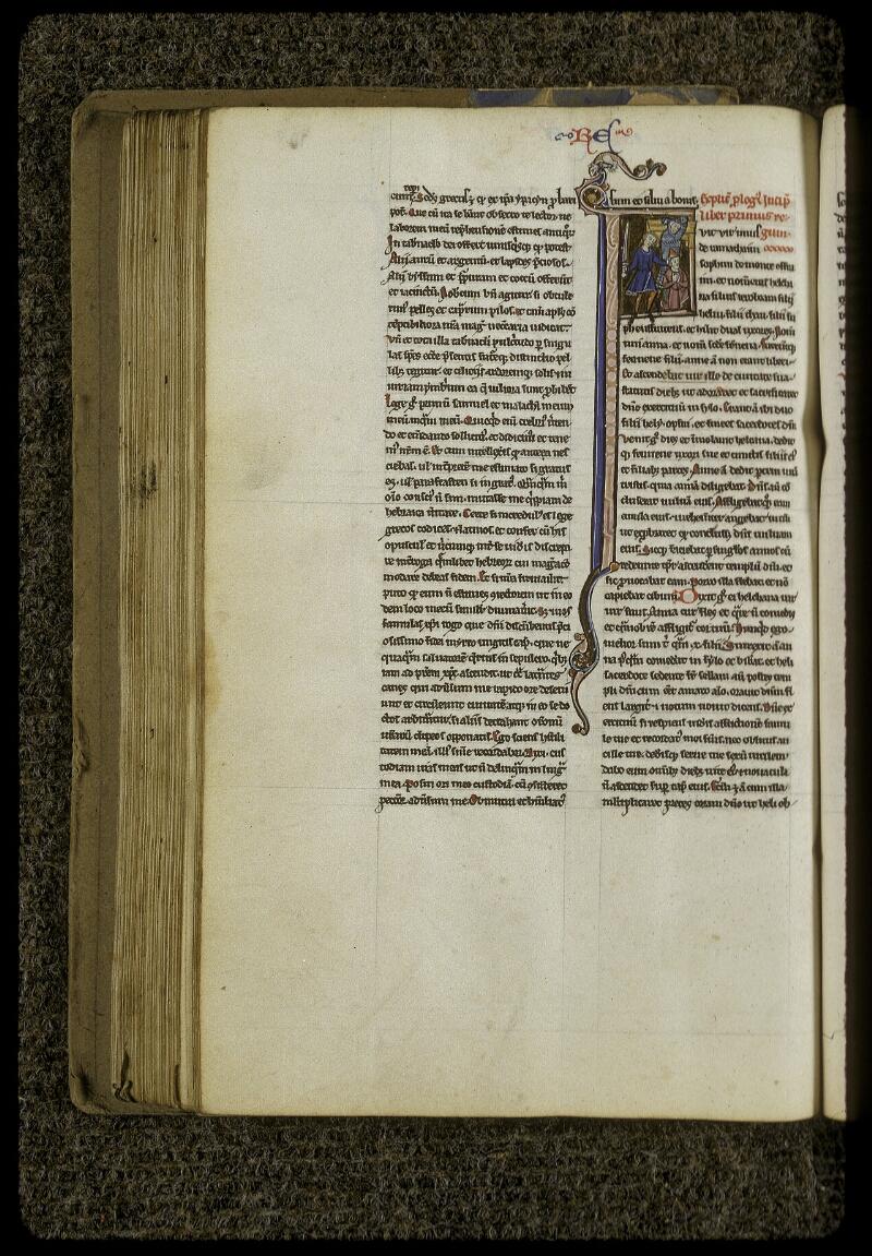 Lyon, Bibl. mun., ms. 0409, f. 128v - vue 1