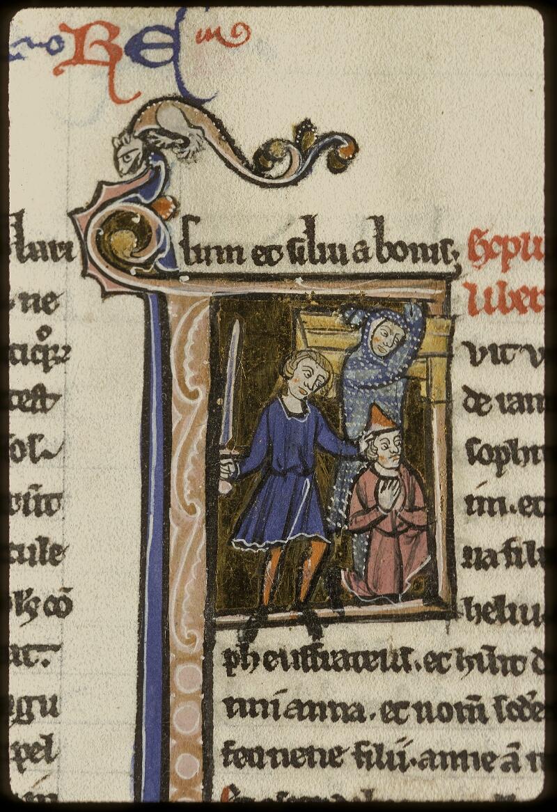 Lyon, Bibl. mun., ms. 0409, f. 128v - vue 2