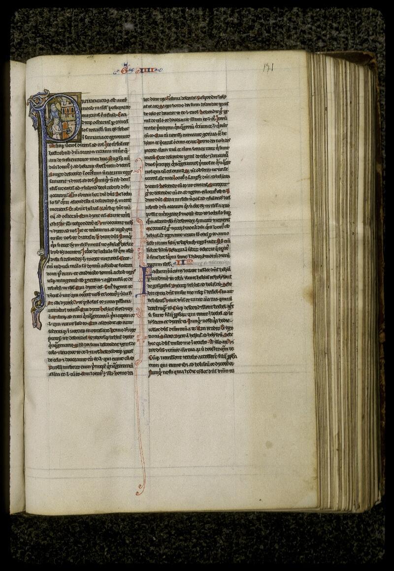Lyon, Bibl. mun., ms. 0409, f. 171 - vue 1
