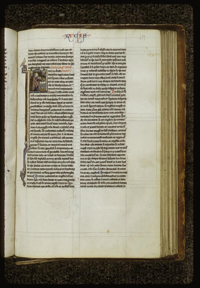 Lyon, Bibl. mun., ms. 0409, f. 473 - vue 1