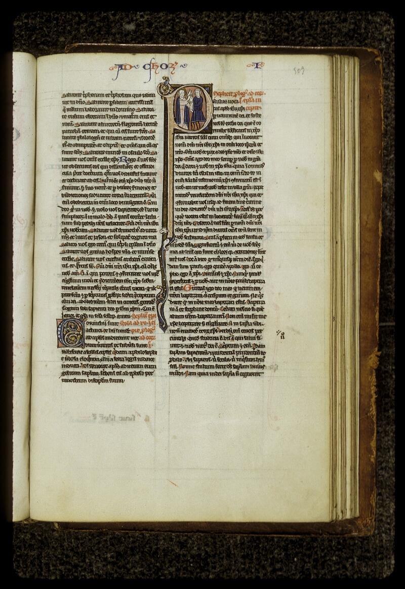 Lyon, Bibl. mun., ms. 0409, f. 503 - vue 1