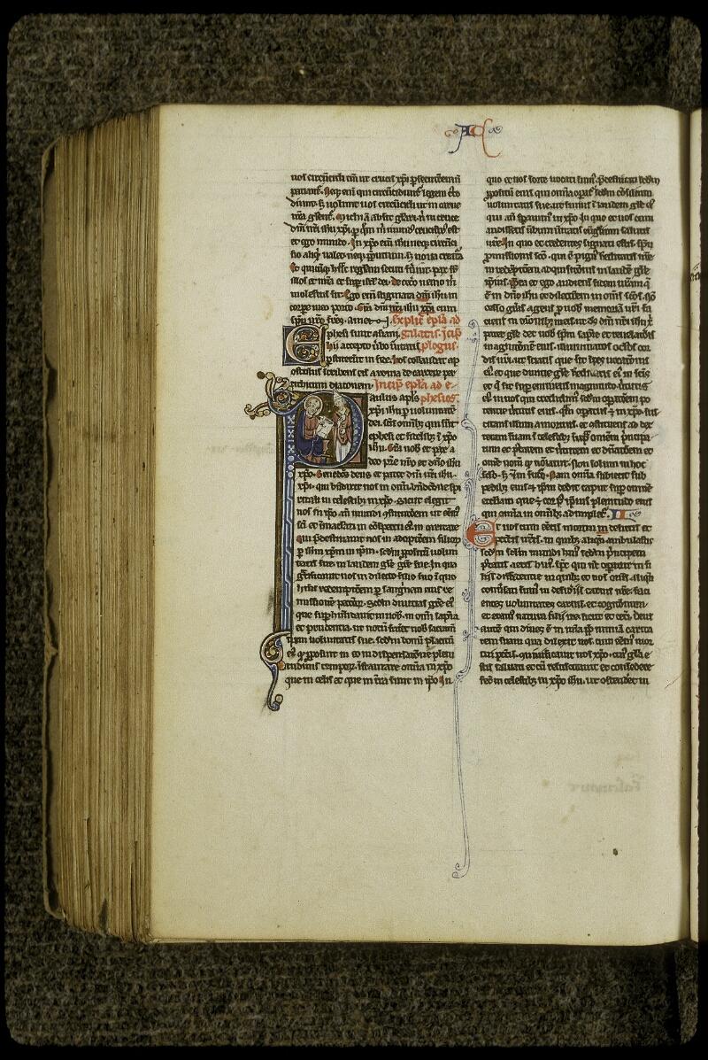 Lyon, Bibl. mun., ms. 0409, f. 513v - vue 1