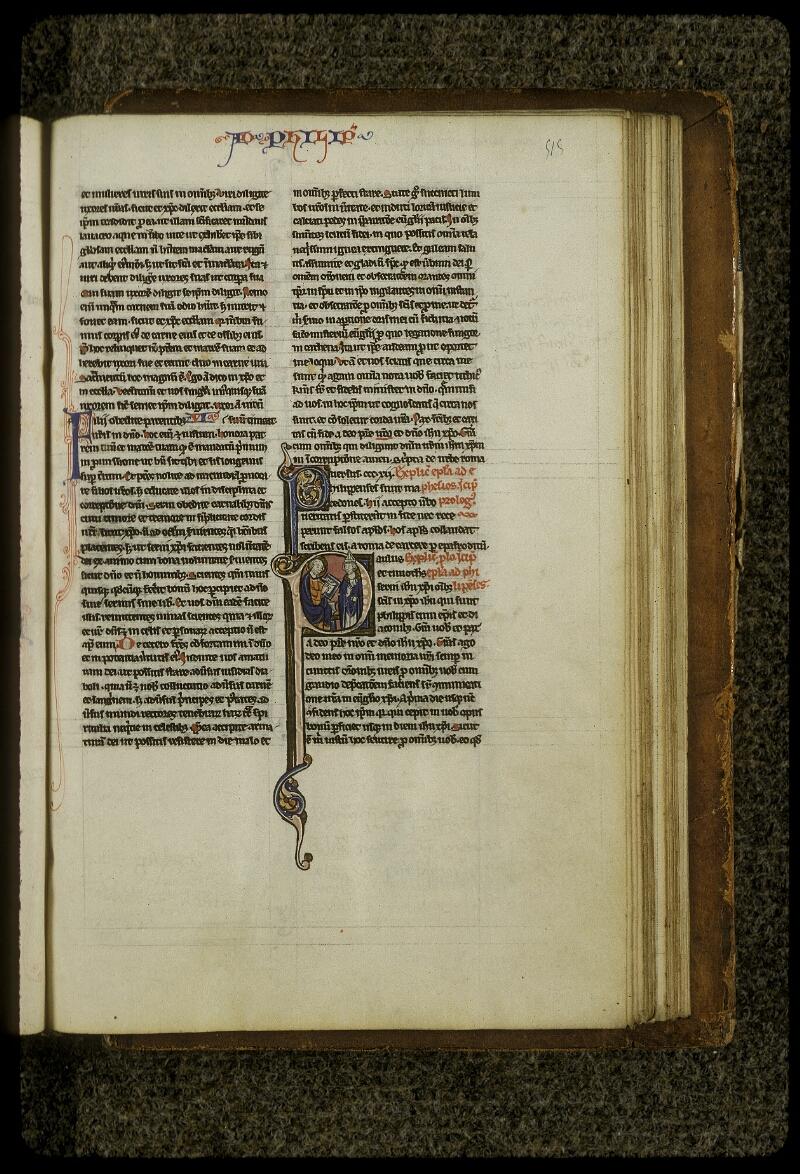 Lyon, Bibl. mun., ms. 0409, f. 515 - vue 1