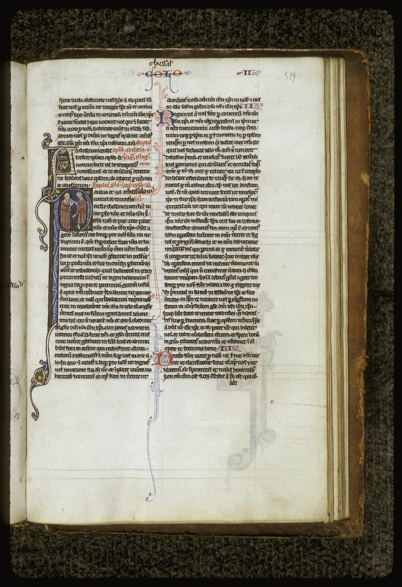 Lyon, Bibl. mun., ms. 0409, f. 519 - vue 1