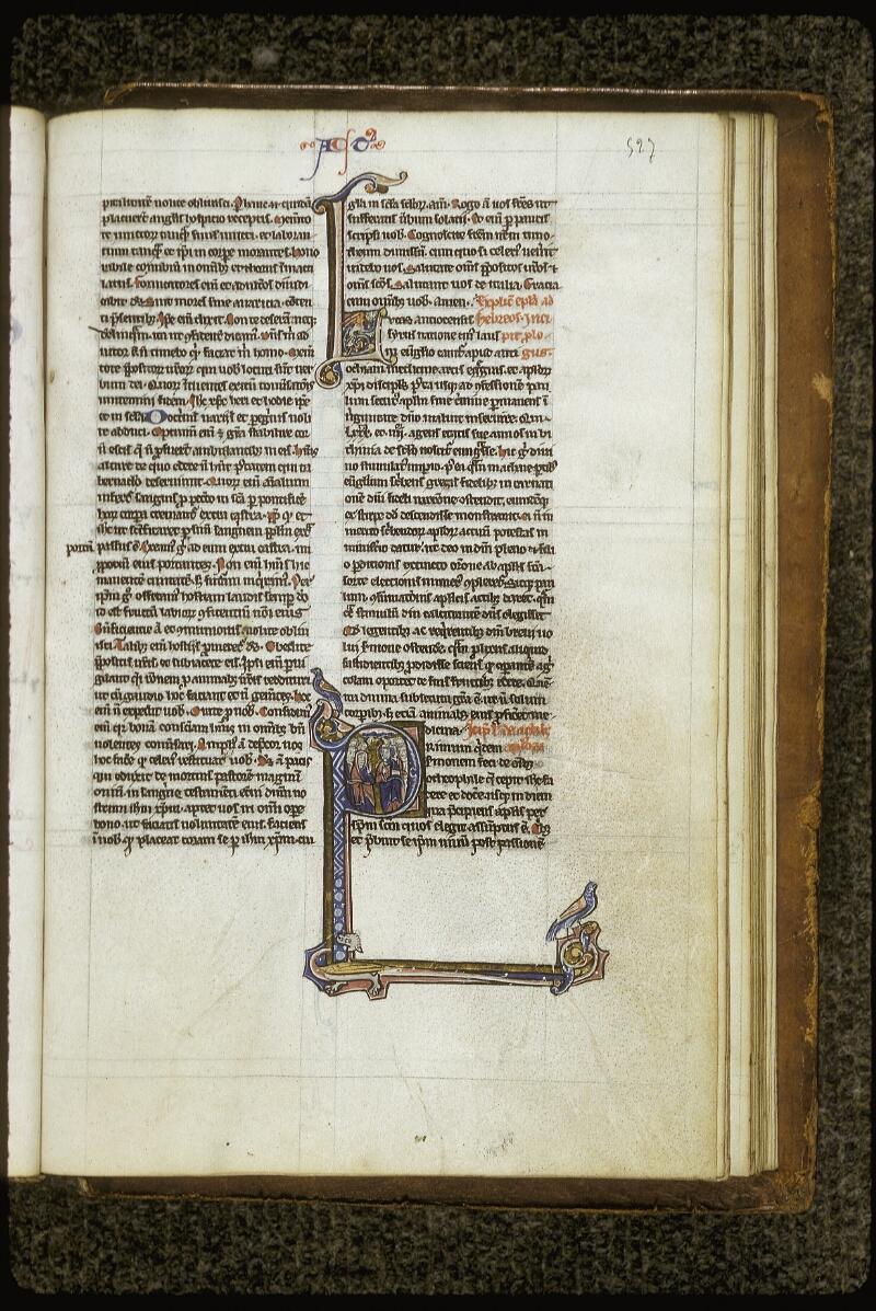 Lyon, Bibl. mun., ms. 0409, f. 527 - vue 1