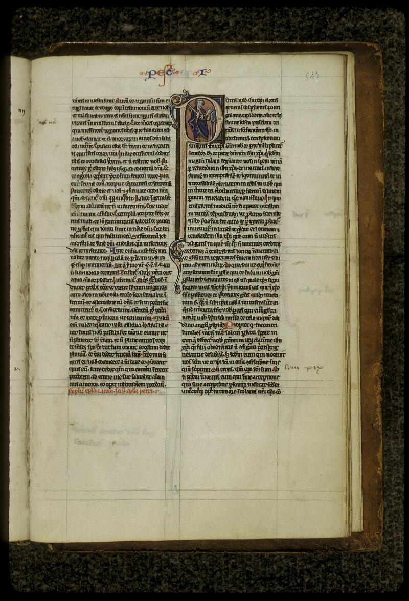 Lyon, Bibl. mun., ms. 0409, f. 543 - vue 1