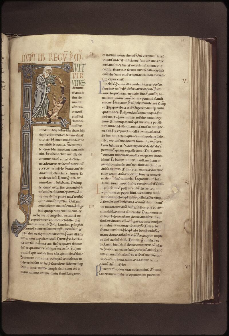 Lyon, Bibl. mun., ms. 0410, f. 105 - vue 1
