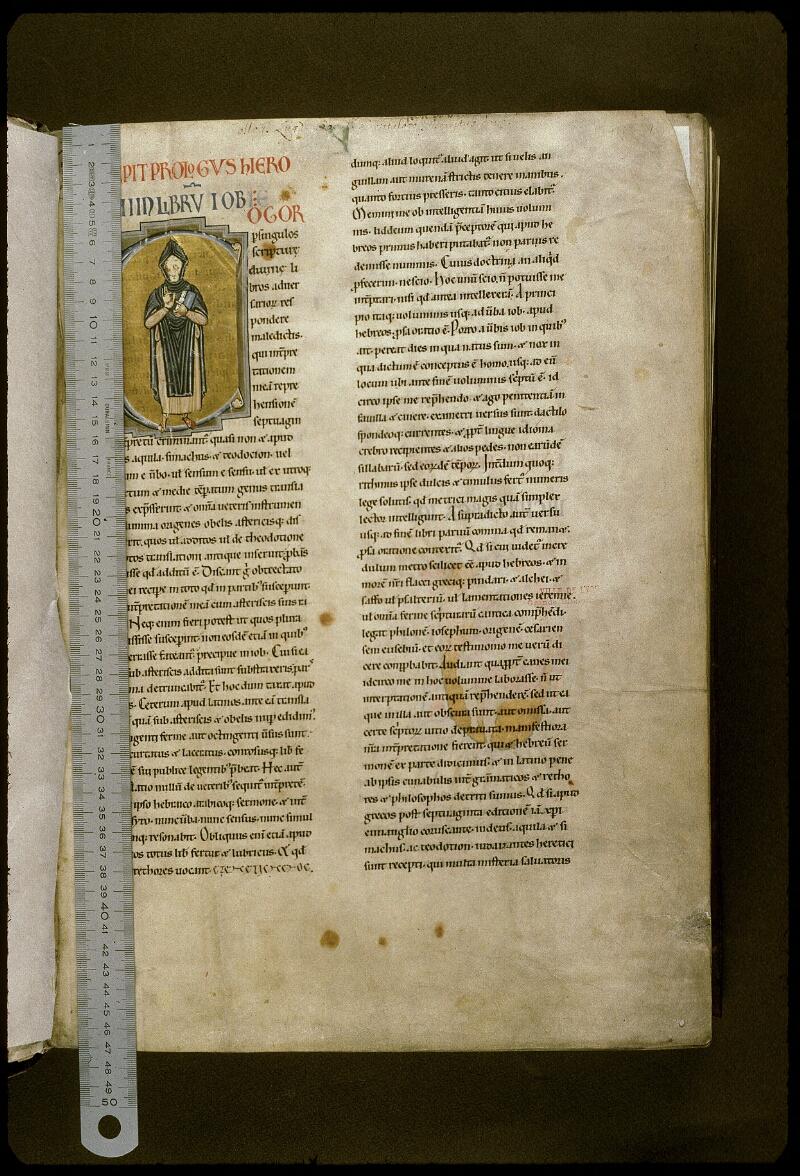 Lyon, Bibl. mun., ms. 0411, f. 001 - vue 1