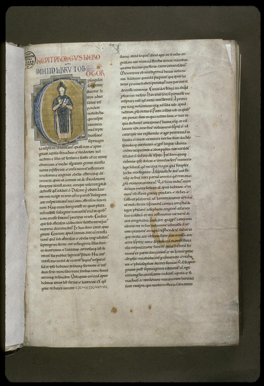 Lyon, Bibl. mun., ms. 0411, f. 001 - vue 2
