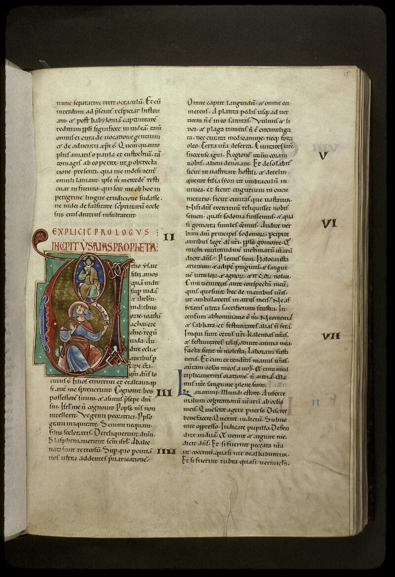 Lyon, Bibl. mun., ms. 0411, f. 069 - vue 1
