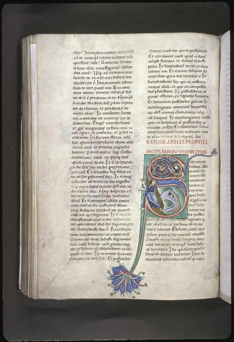 Lyon, Bibl. mun., ms. 0411, f. 164v - vue 1