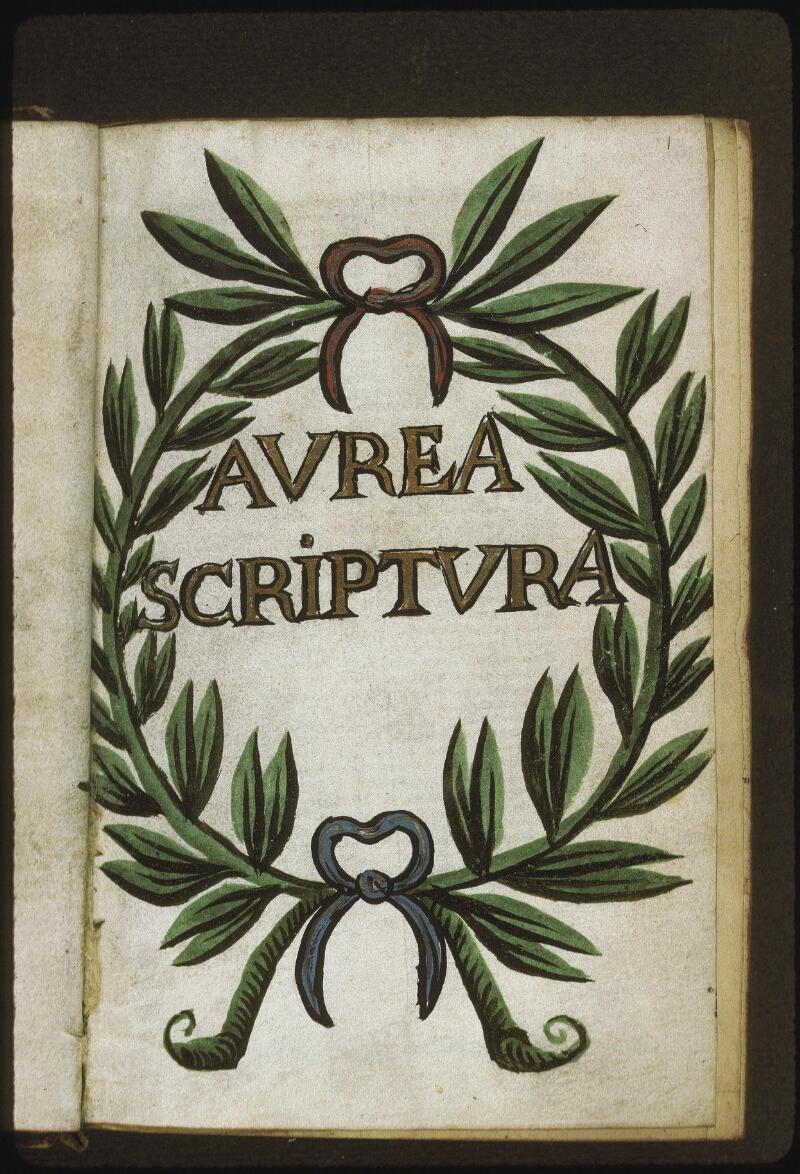 Lyon, Bibl. mun., ms. 0413, f. 001 - vue 2
