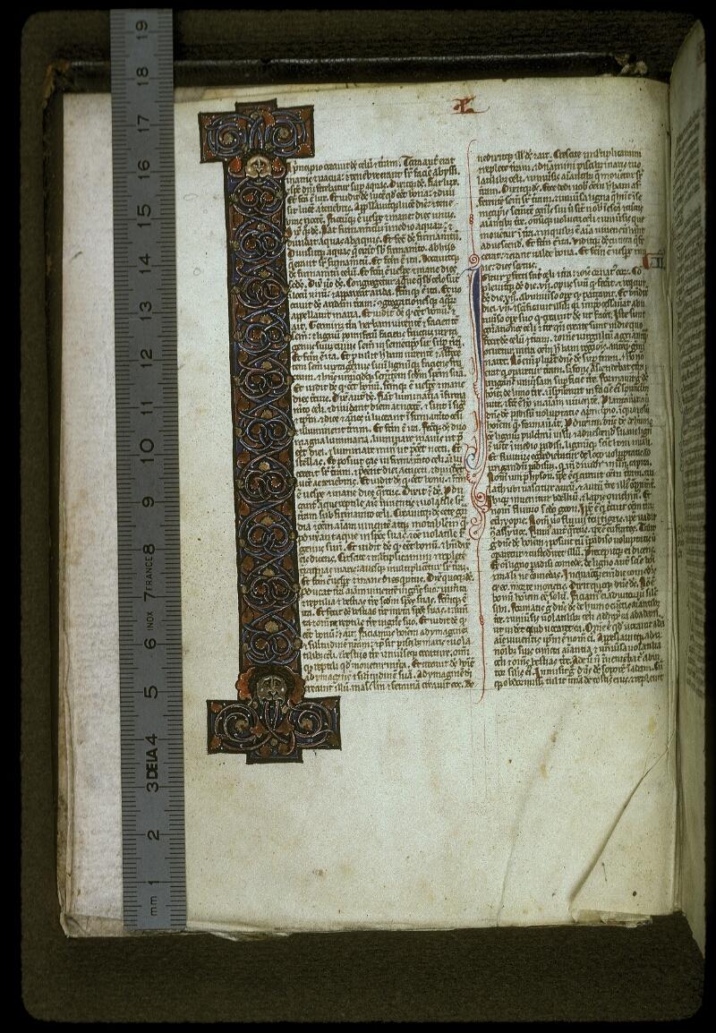 Lyon, Bibl. mun., ms. 0416, f. 003v - vue 1
