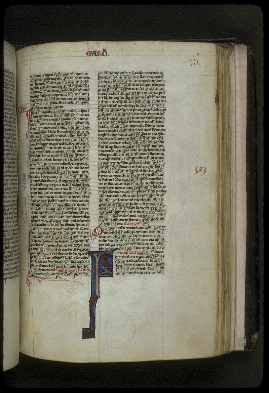 Lyon, Bibl. mun., ms. 0416, f. 345 - vue 1