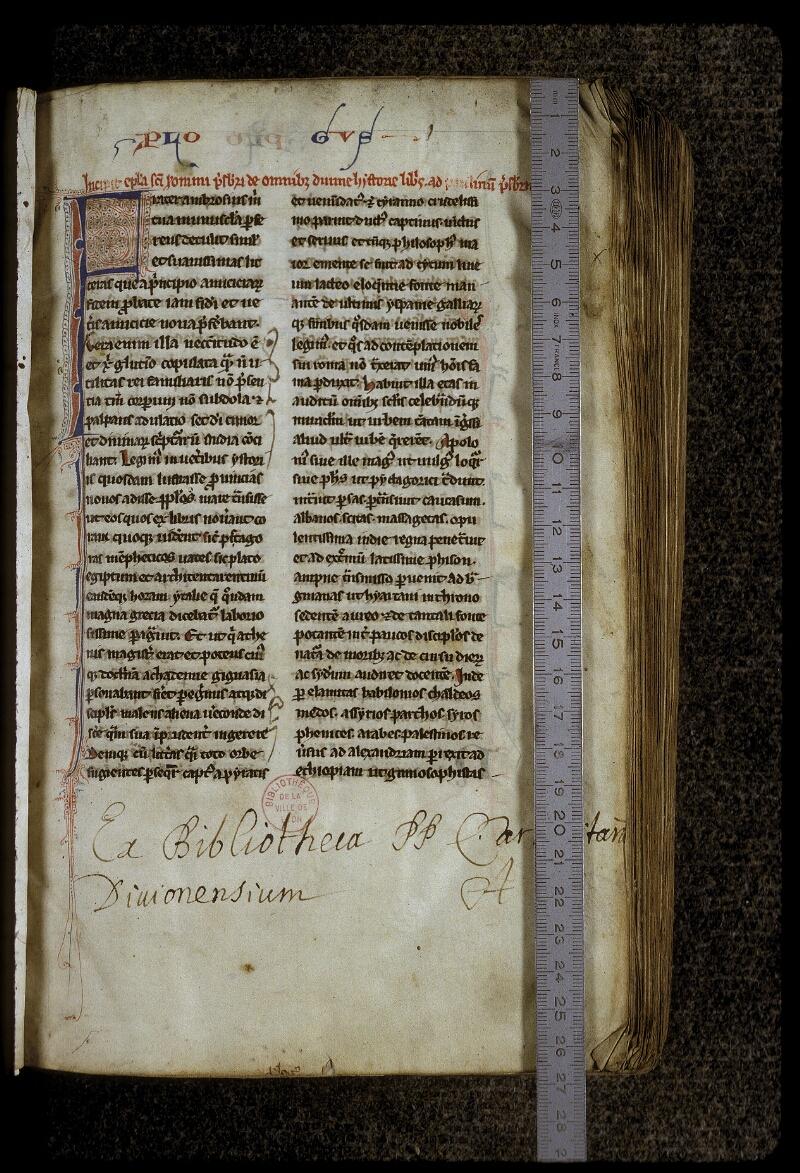 Lyon, Bibl. mun., ms. 0417, f. 003 - vue 1