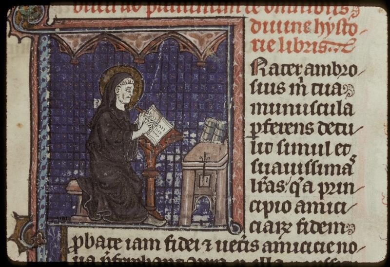 Lyon, Bibl. mun., ms. 0418, f. 001 - vue 2
