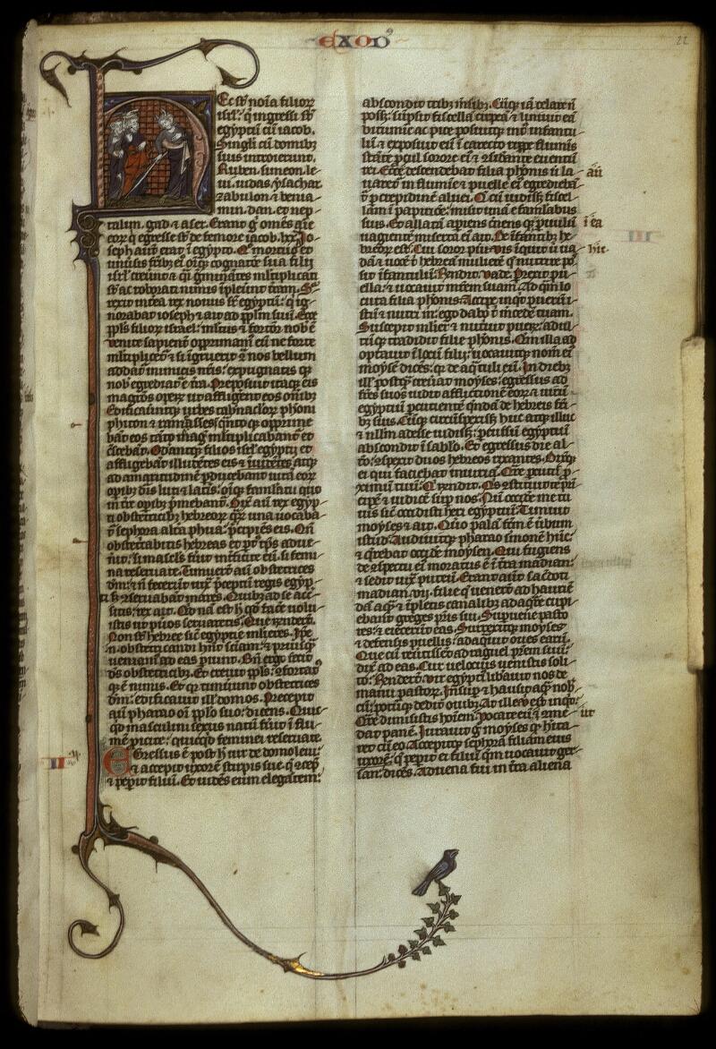 Lyon, Bibl. mun., ms. 0418, f. 022 - vue 1