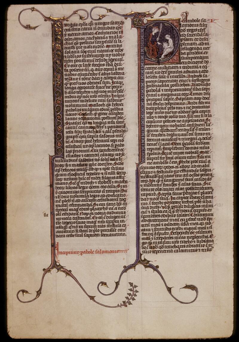Lyon, Bibl. mun., ms. 0418, f. 220v - vue 1