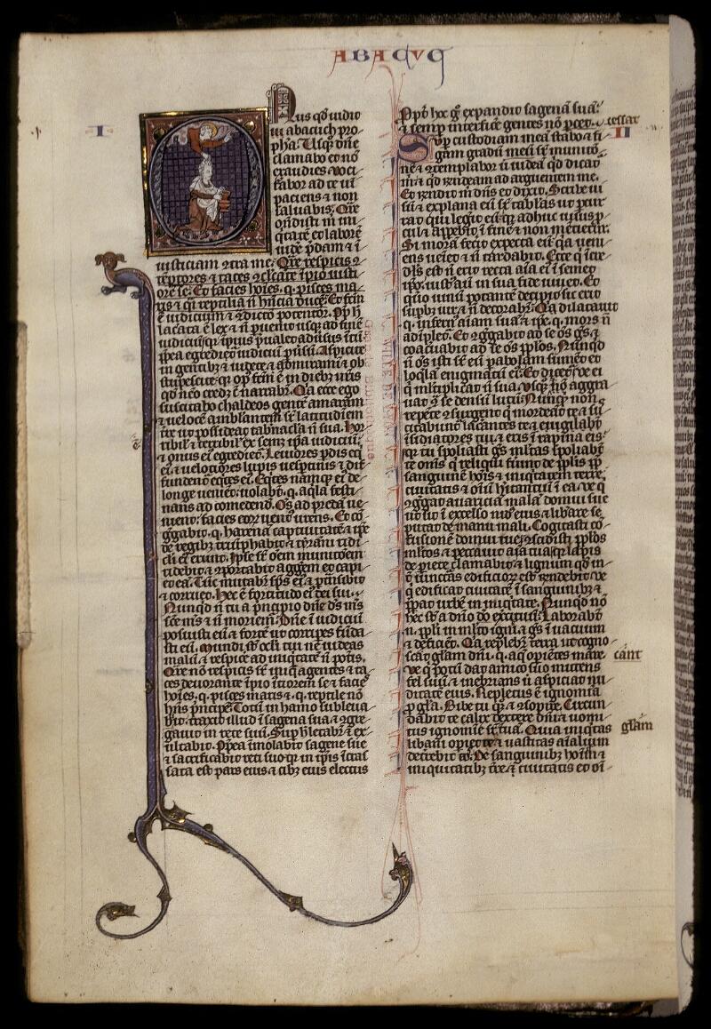 Lyon, Bibl. mun., ms. 0418, f. 332v - vue 1