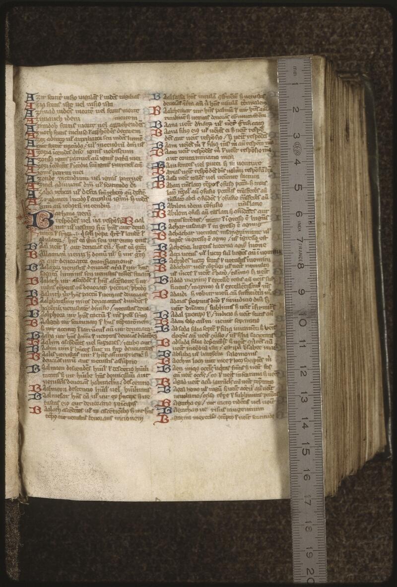 Lyon, Bibl. mun., ms. 0419, f. 006 - vue 1