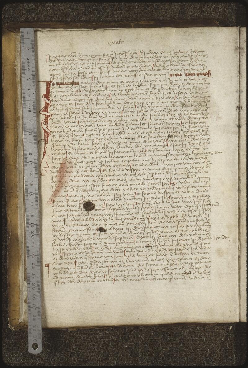 Lyon, Bibl. mun., ms. 0420, f. 003v - vue 1