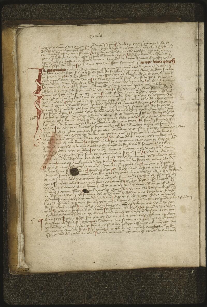 Lyon, Bibl. mun., ms. 0420, f. 003v - vue 2