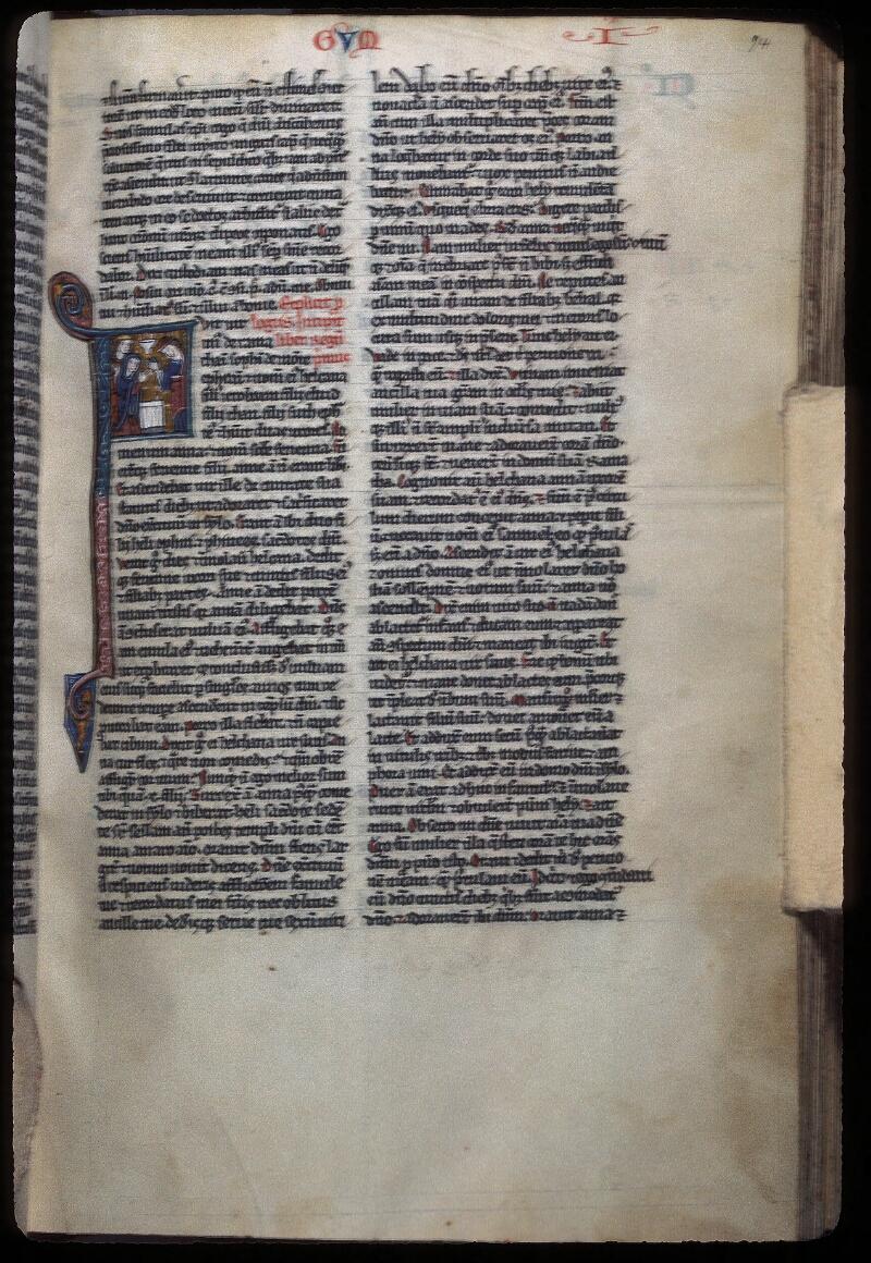 Lyon, Bibl. mun., ms. 0421, f. 094 - vue 1