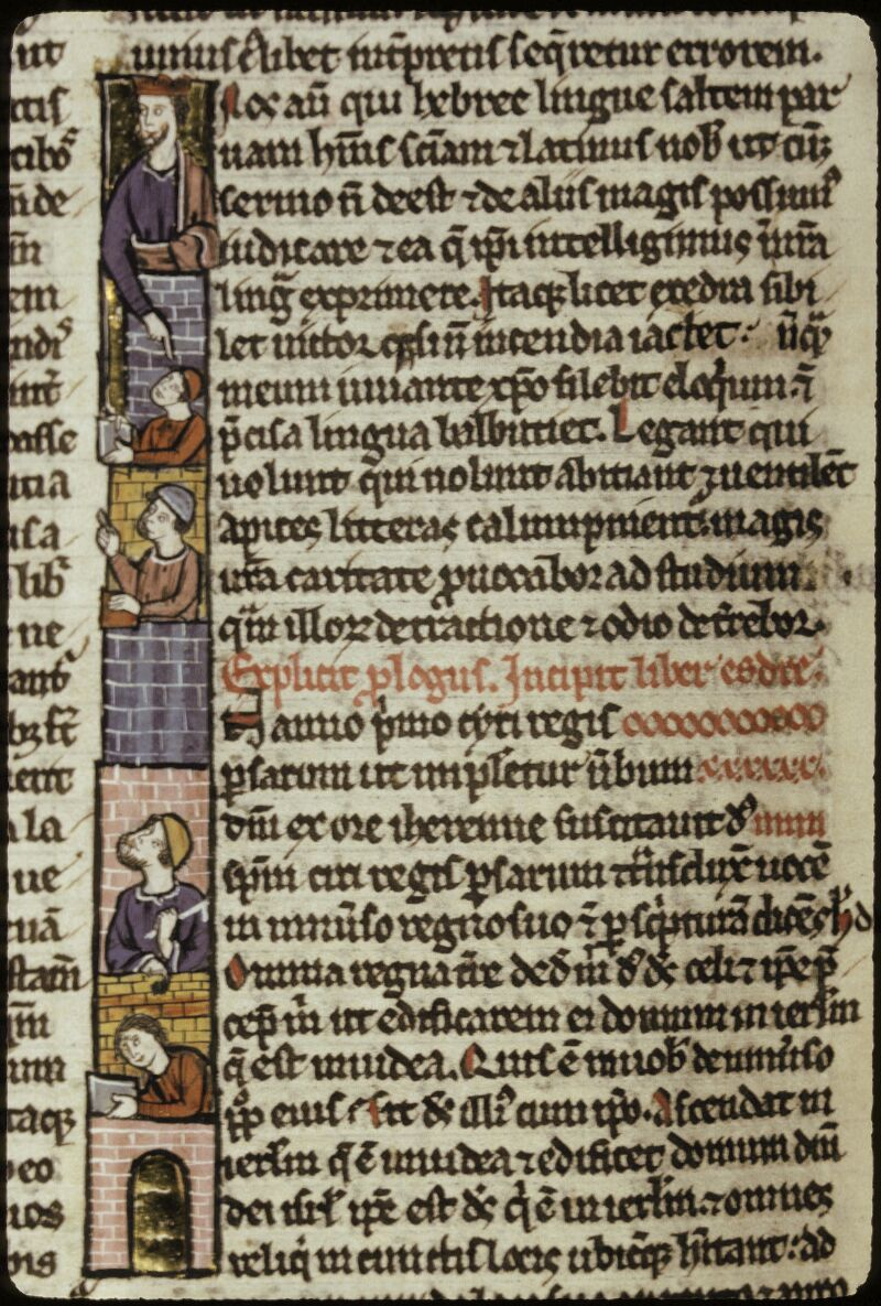 Lyon, Bibl. mun., ms. 0421, f. 161v - vue 2