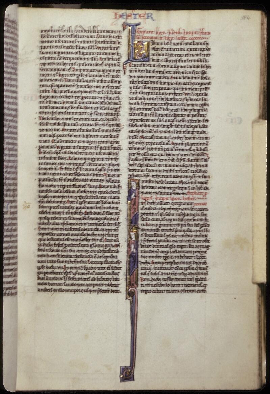 Lyon, Bibl. mun., ms. 0421, f. 184 - vue 1