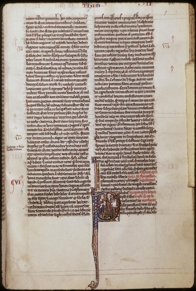Lyon, Bibl. mun., ms. 0421, f. 401 bis - vue 1
