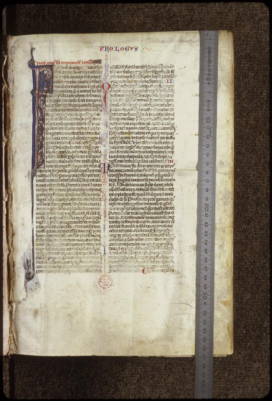 Lyon, Bibl. mun., ms. 0424, f. 001 - vue 1