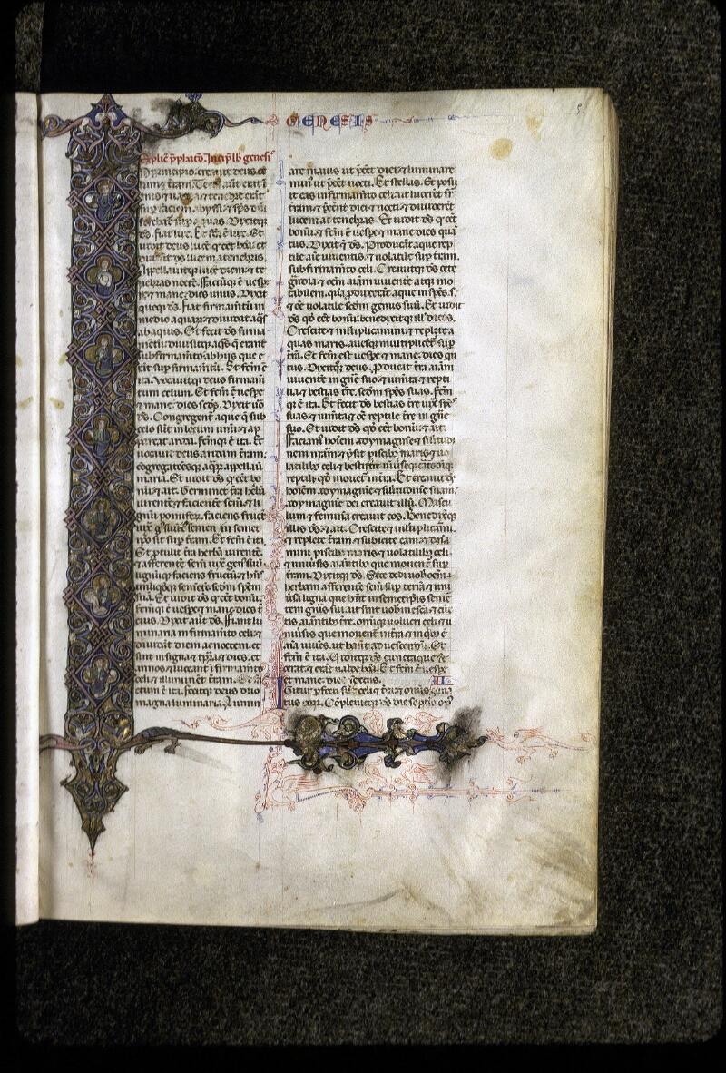 Lyon, Bibl. mun., ms. 0424, f. 005 - vue 1