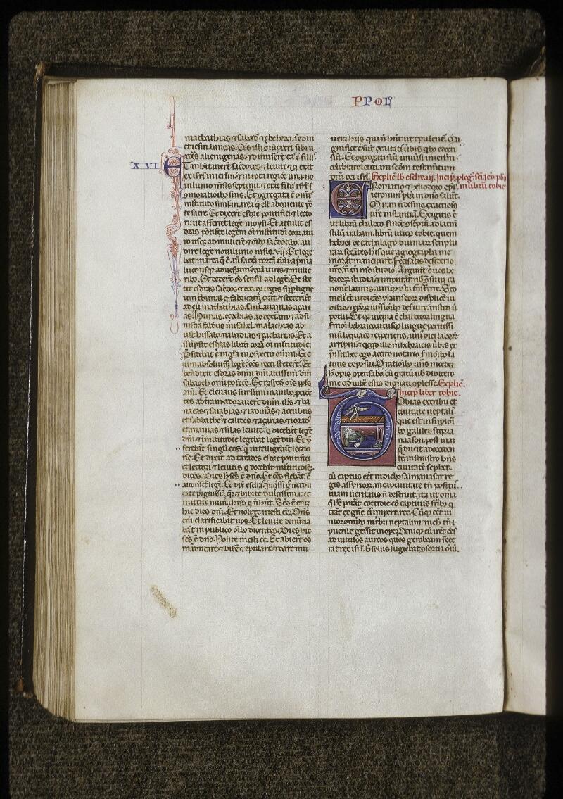 Lyon, Bibl. mun., ms. 0424, f. 195v - vue 1